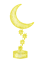 I won Larysa's Golden Moon Award